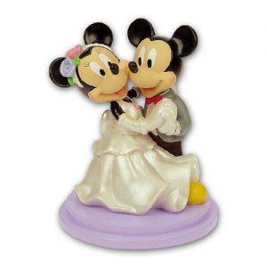 Item # 305200 - Mickey & Minnie Dansend - Maat 15,5 x 13,5 cm