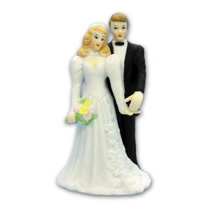 Item # 790 - Bruidspaar Figurine Porselein - Maat 13,5 cm