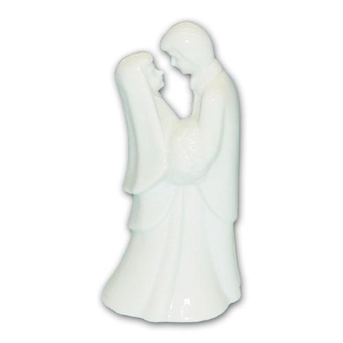 Item # 990 - Bruidspaar Figurine Porselein - Maat 13,5 cm