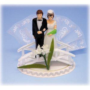 Item # 102 - Bruidspaar Kunststof