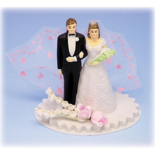 Item # 104 - Bruidspaar Kunststof