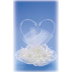 Item # 215 - Huwelijk Transparant Zwanen Hart