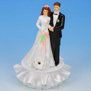 Item # 301 - Bruidspaar Kunststof