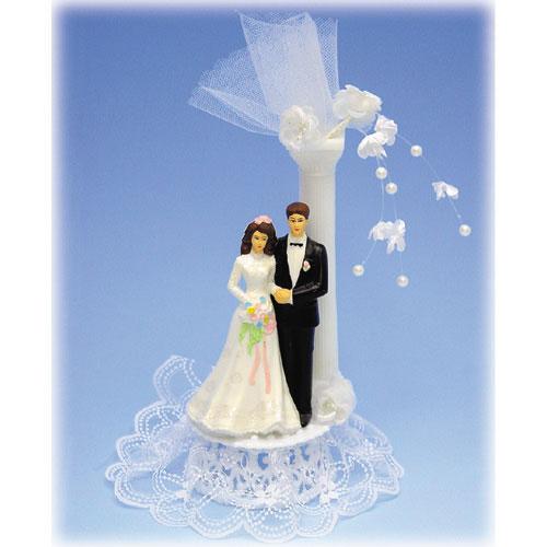 Item # 304 - Bruidspaar Kunststof