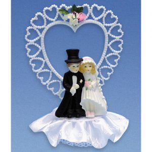 Item # 404 - Bruidspaar Porselein