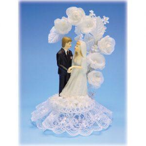 Bruidspaar Porselein - Taart Item # 602