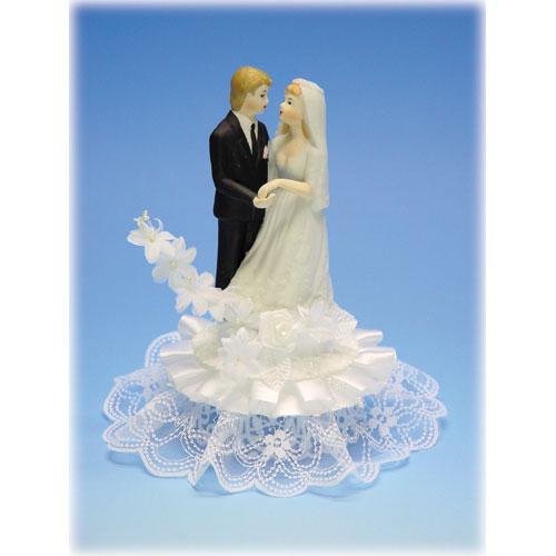 Item # 605 - Bruidspaar Porselein