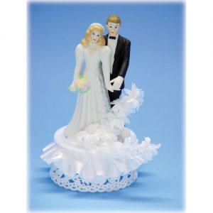 Item # 706 - Bruidspaar Porselein