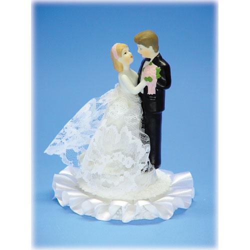 Item # 801 - Bruidspaar Porselein