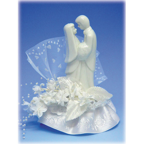 Item # 907 - Bruidspaar Porselein