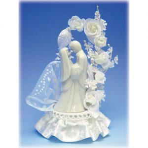 Item # 909 -Bruidspaar Porselein