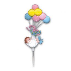 Item # 660 - Baby Ballon Prikkers - 24 Stuks