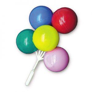 Item # 1214 - Grote Ballonnen Tros Prikker - 36 Stuks per doosje