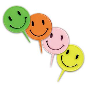 Item # 1250 - Smile Prikkertjes Ø 3,5 cm - 144 Stuks per zak