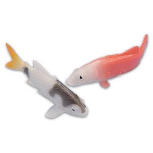 Item # 1391 - Plastic Vissen - 12 Stuks