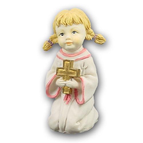 Item # 3822MK - Communikant Meisje met Kruisje