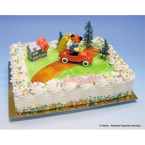 Item # 400238 - Toys: Brandweer Mickey Mouse in Brandweerauto -