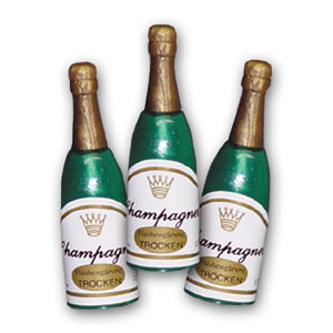 Item # 56930 - Champagne Flesjes Klein - Ca. 5,5 cm - 144 St