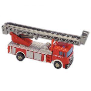 Item # 59928 - Brandweer Auto's - 12 Stuks