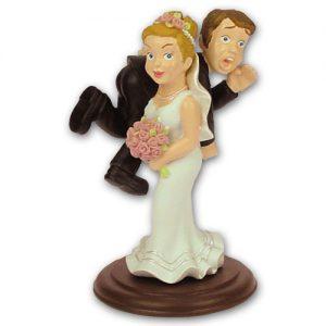 Item # 305174 - Bruidspaar - Bruidegom Over De Bruid's Schouder
