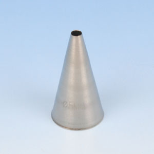 Item # 220205 - RVS Spuitje (Naadloos) - Rond Glad - Ø 5 mm