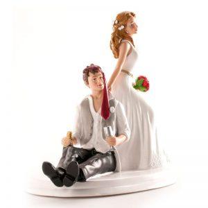 Bruidspaar Grappig (Dronken Bruidegom) - 1