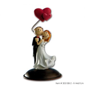 item # 305188-2 - Bruidspaar Grappig - Dansend