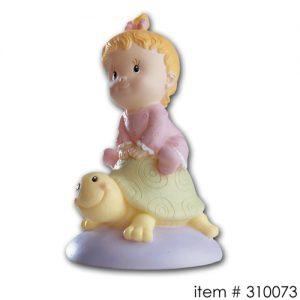 item # 310073M - Baby op schildpadje - Meisje