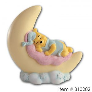 item # 310202 - Slapende Winnie de Pooh op Maan