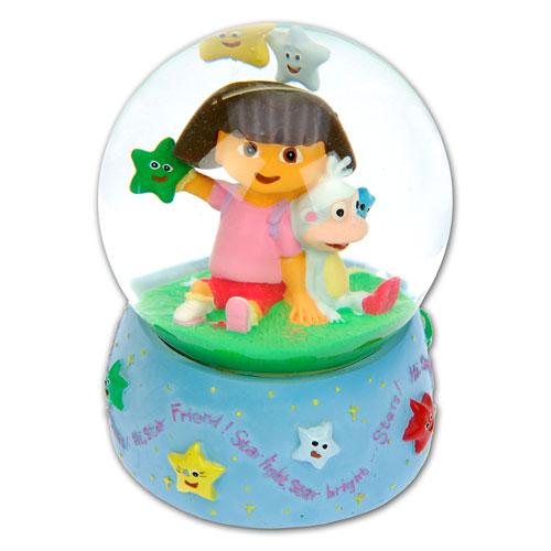 """Item # 319064 - Water Sneeuw Globe """"Dora The Explorer"""""""