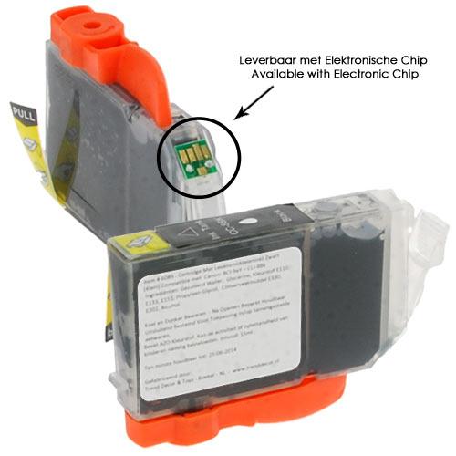 Item # 6089 - Cartridge Eetbare Inkt Zwart Smal Incl. Chip - IP4