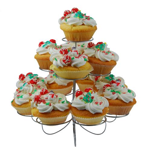 Item #13122 - Cupcakes Standaard - 13 cakejes
