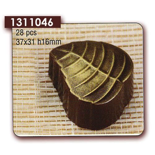 Polycarbonaat Bonbon Chocoladevorm Blad