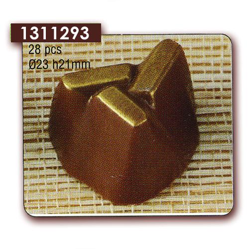 Polycarbonaat Bonbon Chocoladevorm Rots