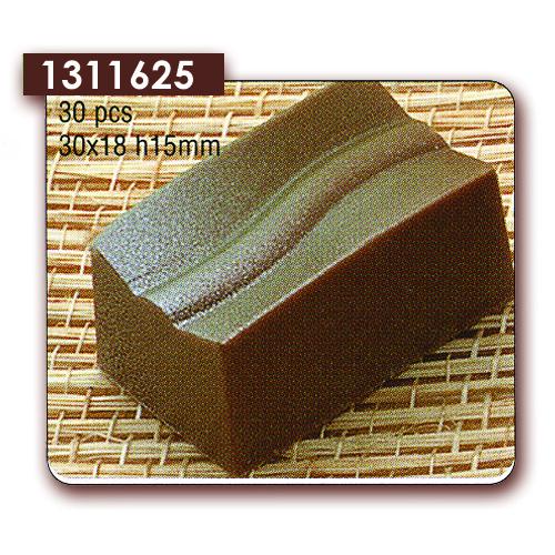Polycarbonaat Bonbon Chocoladevorm Rechthoek