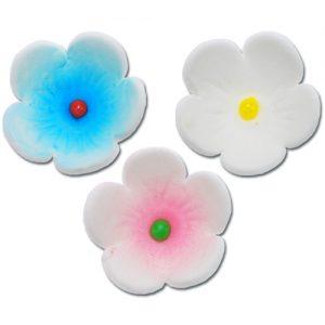 item # 211005 - Suikerbloemetjes 2,5 cm