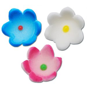 item # 211007 - Suikerbloemetjes 1,5 cm