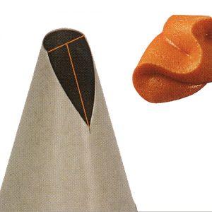 item #: 201510 - RozenBlad Spuit - 10x22 - h.52 mm. (Naadloos)