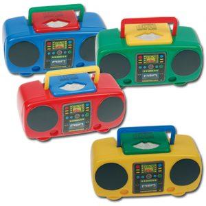item # 2677 - Plastic Radio 7 x 3 x 3 cm - Puntenslijper