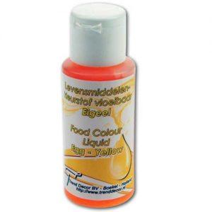 Levensmiddelenkleurstof Vloeibaar/Airbrush - Geel - 50 ml-0