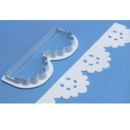 item # 84384 - Boog randen steker (kleine boogjes)