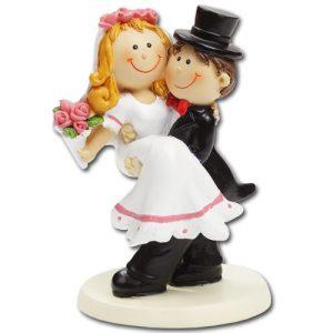 item #3870007 - Medium Bruidspaar - ca. 9 cm