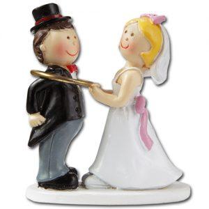 item #3870060 - Mini Bruidspaar - ca. 5 cm