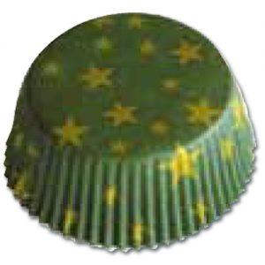 item # 501203 - CupCake vormen - Sterren Groen