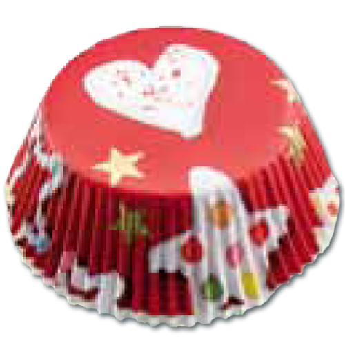 item # 501250 - CupCake vormen - Cake -Rood