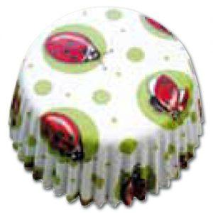 item # 501261 - CupCake vormen - Lieveheersbeestjes