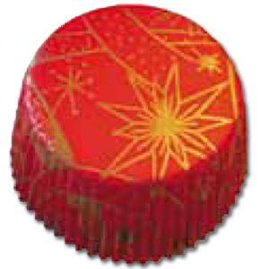 item # 501269 - CupCake vormen - Rode Sterren