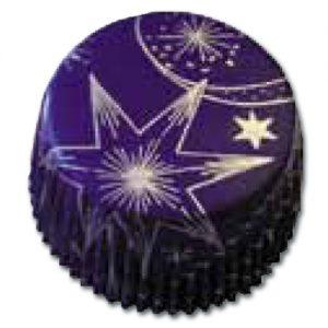 item # 501271 - CupCake vormen - Blauwe Sterren