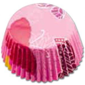 item # 501272 - CupCake vormen - Vlinder Roze