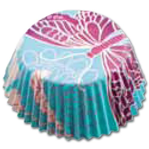 item # 501273 - CupCake vormen - Vlinder Blauw